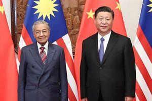 Malaysia chính thức hủy dự án 3 tỷ USD của Trung Quốc