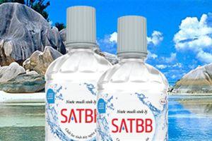 Thu hồi nước muối sinh lý SATBB, cấm nhập gà không đầu