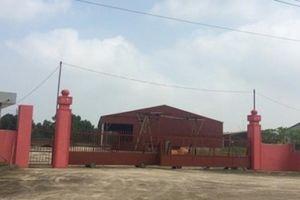 Địa phương muốn thu hồi dự án Nhà máy xi măng hàng trăm tỷ bỏ hoang