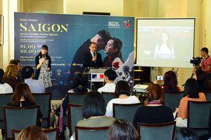 Công diễn vở kịch 'Sài Gòn' của nữ đạo diễn người Pháp tại TP Hồ Chí Minh