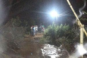 Đà Lạt mưa lớn, nước cuốn mất tích 1 người