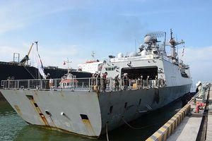 Tàu khu trục Hàn Quốc thăm Đà Nẵng