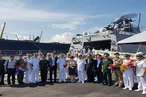 Tàu khu trục cùng hơn 300 sỹ quan, thủy thủ Hàn Quốc thăm Đà Nẵng
