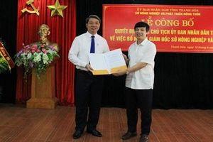 Điều chuyển loạt vị trí lãnh đạo chủ chốt tỉnh Thanh Hóa
