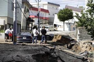 Điện thăm hỏi về trận động đất tại Hokkaido, Nhật Bản