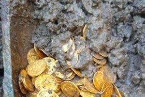 Phát hiện hũ chứa tiền vàng có niên đại từ thế kỷ thứ 5 trị giá chục triệu USD