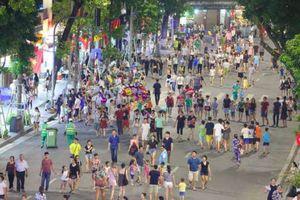 Hà Nội sắp mở rộng không gian phố đi bộ?
