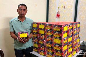 Công an Thành phố Vinh bắt giữ 150kg pháo do nước ngoài sản xuất
