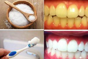 Răng ố vàng sẽ trắng sáng như ngọc chỉ sau 3 phút chà hỗn hợp này