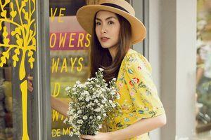 Những mẫu váy hoa Hà Tăng từng diện khiến dân mạng xốn xang