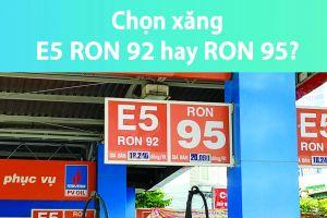 ''Khai tử'' được Ron A92 nhưng xăng sinh học E5 vẫn chưa hút người tiêu dùng
