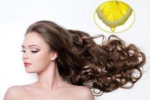 Kích thích mọc tóc tại nhà bằng nguyên liệu tự nhiên từ nước chanh chị em đã thử chưa