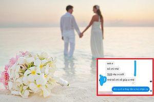 Nhận được lời mời đám cưới của thanh niên lạ mặt vì hay bình luận 'dạo', cô gái hoang mang vì bị dọa không đi 'ăn đấm'