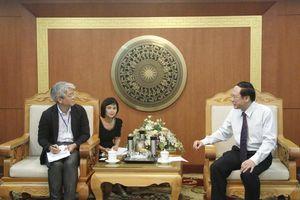 Thứ trưởng Lê Công Thành tiếp Phó trưởng đại diện Văn phòng JICA tại Việt Nam