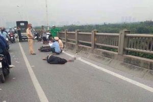 Hà Nội: Người đàn ông ngã xe máy tử vong trên cầu Vĩnh Tuy