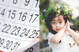 Có con gái sinh vào 4 ngày âm lịch này cha mẹ ăn nên làm ra, hưởng phúc cả đời