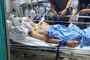 Xót lòng 9X Ninh Bình nhà nghèo bị chấn thương sọ não đang trong tình trạng nguy kịch
