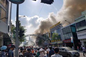 Đà Nẵng: Cháy lớn tại vũ trường Leo trung tâm thành phố