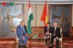 Tổng Bí thư tiếp Chủ tịch Hội hữu nghị Hungary-Việt Nam