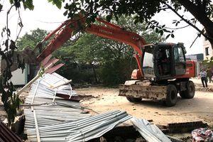 Cưỡng chế thu hồi 1,5 ha đất thực hiện dự án Khu đô thị Tây Nam Kim Giang I