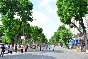 Đề xuất chính thức triển khai không gian đi bộ khu vực hồ Hoàn Kiếm