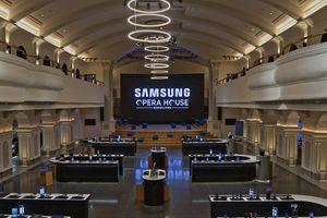 Samsung mở cửa hàng điện thoại lớn nhất thế giới