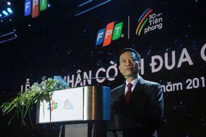 Quyền Bộ trưởng Bộ TT&TT: 'FPT sẽ làm gì 10 năm tiếp theo để phụng sự Tổ quốc?'