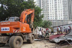 Cưỡng chế thu hồi đất thực hiện dự án Tây Nam Kim Giang I