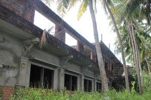 Khu du lịch sinh thái xã đảo bị bỏ hoang
