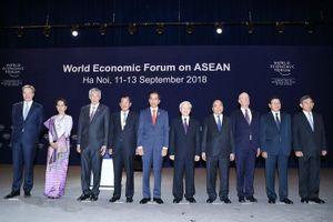 Khai mạc trọng thể WEF ASEAN 2018
