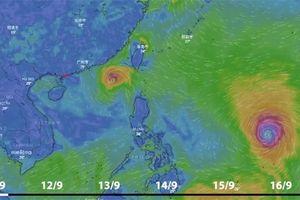 Dự báo thời tiết 12.9: Siêu bão Mangkhut giật cấp 16 và bão số 5 Barijat giật cấp 10 đe dọa Biển Đông