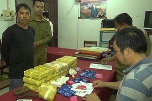 Bắt đối tượng người Lào vận chuyển hơn 100.000 viên ma túy tổng hợp