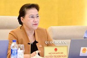 Chủ tịch Quốc hội Nguyễn Thị Kim Ngân: 'Tôi rất thương học sinh hiện nay học quá khổ!'