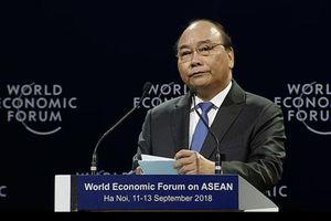 Thủ tướng đề xuất các nước ASEAN đặt ra các ưu tiên chính sách trước cách mạng 4.0