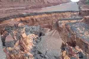 Gia Lai: Đường tránh TP 844 tỷ đồng xuất hiện 'dấu vết lạ'