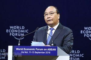 Phiên khai mạc toàn thể WEF ASEAN: Việt Nam đưa sáng kiến hòa mạng di động một giá cước toàn ASEAN