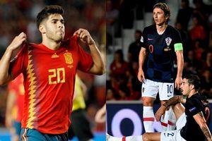 Á quân World Cup 2018 Croatia bị Tây Ban Nha vùi dập 6 bàn không gỡ