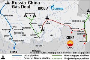 Nga sẽ xây thêm đường ống dẫn khí mới tới Trung Quốc