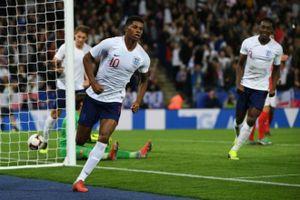 Video bàn trận thắng Anh vs Thụy Sĩ: Cú đấm từ Manchester