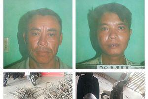 Công nhân trộm 2 tạ dây cáp ở nhà máy thủy điện đem bán