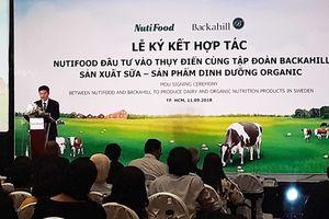 Nutifood hợp tác cùng tập đoàn Thụy Điển sản xuất sữa