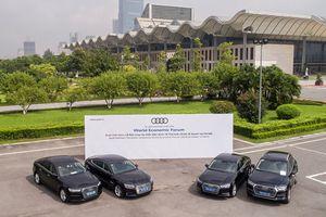 Khách mời diễn đàn Kinh tế Thế giới về ASEAN đi xe Audi
