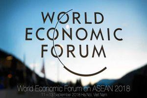 Lãnh đạo 7 quốc gia ASEAN tham dự phiên khai mạc toàn thể Hội nghị WEF ASEAN 2018