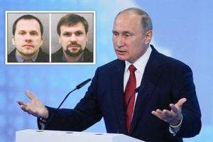 Vụ cựu điệp viên: Tổng thống Putin chính thức lên tiếng đáp trả cáo buộc của Anh