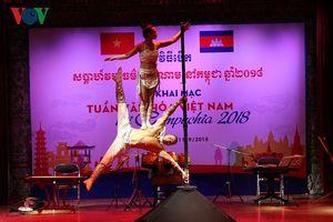 Khai mạc Tuần Văn hóa Việt Nam 2018 tại Campuchia
