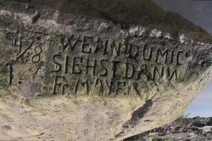 Kỳ lạ 'phiến đá khát' báo hạn hán ở Cộng hòa Czech