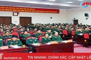 Đảng ủy Quân sự Hà Tĩnh quán triệt, triển khai Nghị quyết Trung ương 6