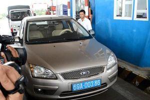 Kỷ luật lái xe biển xanh không mua vé phản đối BOT Sóc Trăng