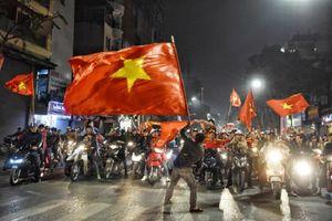 Cổ động viên bóng đá Hà Nội văn minh, trật tự sau những chiến thắng của U23 Việt Nam