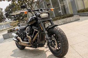 Cận cảnh Harley-Davidson Fat Bob giá 817 triệu tại Việt Nam